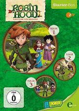ROBIN HOOD-SCHLITZOHR VON SHERWOOD - (1)STARTER-BOX  3 DVD NEU