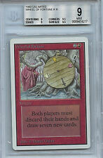 MTG Unlimited Wheel of Fortune BGS 9.0 (9) Mint Card Magic WOTC 4217
