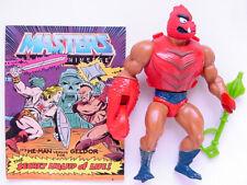 1984 MATTEL MOTU HE-MAN MASTERS OF THE UNIVERSE SERIES 3 CLAWFUL FIGURE & COMIC