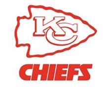11.5 Kansas City Chiefs Cornhole Board Decal (set Of 2)