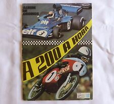 "Vintage stickers álbum FORMULA 1 and MOTORCYCLE RACING ""A 200 A HORA"" complete"