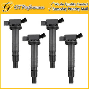 OEM Quality Ignition Coil 4PCS for Lexus IS F/ Scion xB/ Toyota Camry 2.4/4.0L