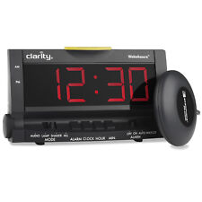 Clarity 00600.000 Wake Assure Amplified Alarm Clock with Bed Shaker
