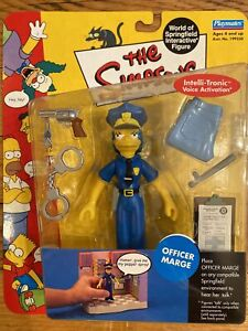 Playmates Toys The Simpsons Series 7: Officer Marge Action Figure 2001