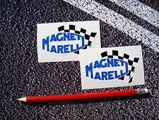 MAGNETI Marelli adesivi 9cm x 5cm f1 Lemans Motorsport Rally