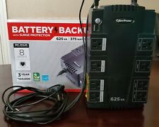 CyberPower 625VA Battery Back-up System with Surge Protection, Black