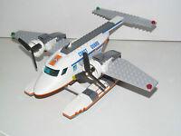 Lego ® Ville City Avion Hydravion Sauveteurs Coast Guard