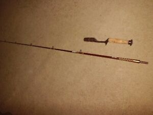 Vintage FENWICK Lunkerstik 1460 Baitcasting 6' Rod made in USA- serial # M056435