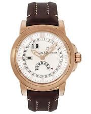 Carl F. Bucherer 18K Rose Gold Patravi Complete Calendar Automatic Men's Watch