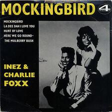 "CHARLIE & INEZ FOXX  ""MOCKING BIRD, LA DEE DAH I LOVE YOU"" 4 TRACK EP LISTEN!"