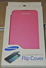 Genuine Samsung Brand Flip Open Book Case Cover for Samsung Galaxy S4 Pink