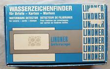 Lindner Letterscope 9110 Détecteur de Filigrane Watermark Detector