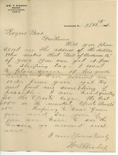 1896 Cover & Letter, Cleveland to Bowling Green Ohio, Merchant correspondence