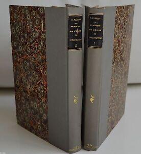RECHERCHES SUR L'EPOQUE DE L'EQUITATION GABRIEL FABRICY ED MOSSY DURAND 1764