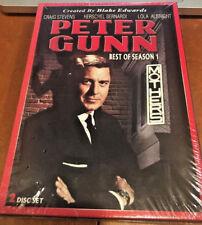 Peter Gunn :Best Of Season 1 :Craig Stevens: Herschel Bernardi: 2 Disc Box Set