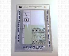 Microscale N Decals Terminal Railway Alabama State Docks 50' Boxcar 60-4289