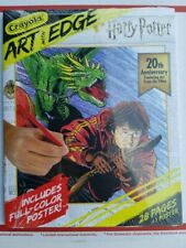 Harry Potter Coloring Crayola Art With Edge 28 Pages Poster 20th Anniversary