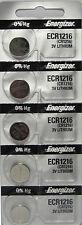 5 ENERGIZER CR1216 WATCH BATTERIES