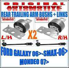FITS FORD GALAXY S-MAX MONDEO MK4 REAR LOWER TRAILING ARM BUSH & REAR LINKS X2
