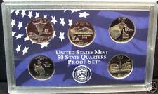 2007-S Proof Clad Quarters - Deep Cameo!