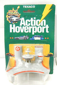 1989 Racing Champions Back To The Future Texaco Hoverport Gas Station + DeLorean