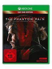 Xbox One juego Metal Gear Solid V 5-The Phantom Pain-Day One Edition mercancía nueva