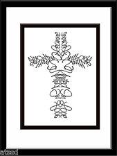 Personalized Name Cross Print Anniversary Wedding Gift