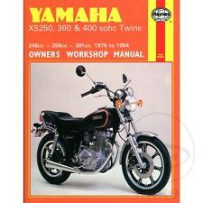 YAMAHA XS250, 360 & 400 SOHC TWINS 1975-1984 Haynes Repair Manual 0378