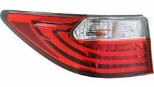 FIT FOR LEXUS ES350 / ES300H 2013 2014 2015 REAR TAIL LAMP OUTER LEFT DRIVER
