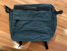 Vintage Eddie Bauer Messenger Laptop Bag College School Bag