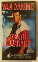 Death Warrant VHS 1990 Martial Arts Deran Sarafian JCVD 1992 Time-Life Small