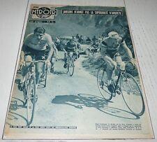 MIROIR SPRINT 641 1957 CYCLISME TOUR FRANCE ANQUETIL AUBISQUE JANSSENS