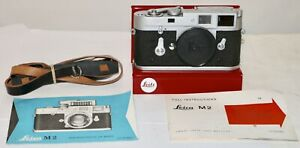 Leica M2 Body Only Just Serviced Very Nice Condition + Strap and Instructions
