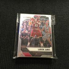 2016-17 PANINI PRIZM CLEVELAND CAVALIERS TEAM SET 10 CARDS  LEBRON JAMES +
