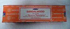 Satya Nag Champa Incense Sticks Sandalwood 100 gram box