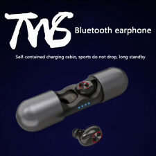 TWS V8 Bluetooth 5.0 Earphones Wireless Earbuds Cordless Headset + Charging Box
