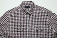 Banana Republic Mens Button Down Shirt Size 15-15.5 Medium Slim Fit