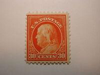 U.S. Scott #516 30 Cent Franklin 1917 NH