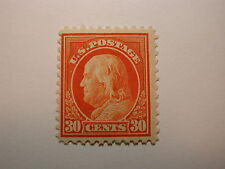 U.S. Scott #516 30 Cent Franklin 1917 NH