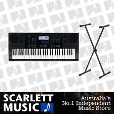 Casio CTK-6200 61 Note Digital Keyboard w' Stand 5 Year Warranty *BRAND NEW*