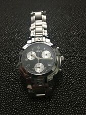 Fendi Orologi Chronograph Mens Watch Swiss Made Sapphire Crystal Fully Functiona