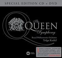 THE QUEEN SYMPHONY - SPECIAL EDITION ZU EHREN VON FREDDIE MERCURY - CD+DVD NEUF