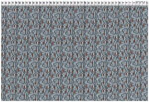 Viskose Gewebe - Graphisches Muster grau