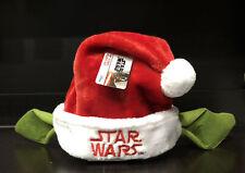 STAR WARS SANTA HAT - YODA EARS - FAUX FUR - ADULT CHRISTMAS