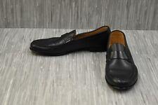 Canali Smooth Calf Skin Loafer - Men's Size 9 - Black