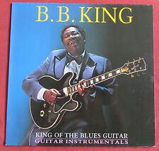 B. B . KING  LP UK ACE KING OF THE BLUES GUITAR  GUITAR INSTRUMENTALS