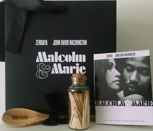 MALCOLM & MARIE 2020 PROMO WOOD SPOON BAG MATCH STICKS JAR FYC FOLDER ZENDAYA