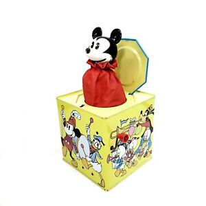 Mickey Mouse Jack In The Box-as Is