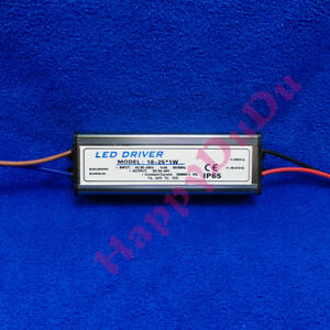 Waterproof AC LED Driver 18~25x1W 300mA Power Supply Lamp Light Bulb 18W 20W 24W