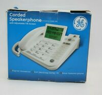 Ge Thomson Corded Speakerphone With Adjustable Tilt Screen NEW OPEN BOX